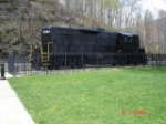 PRR 7048 (GP9) on display 
